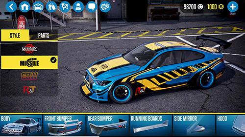 Перегони: завантажити Машина Х: Дрифтові гонки 2 на телефон
