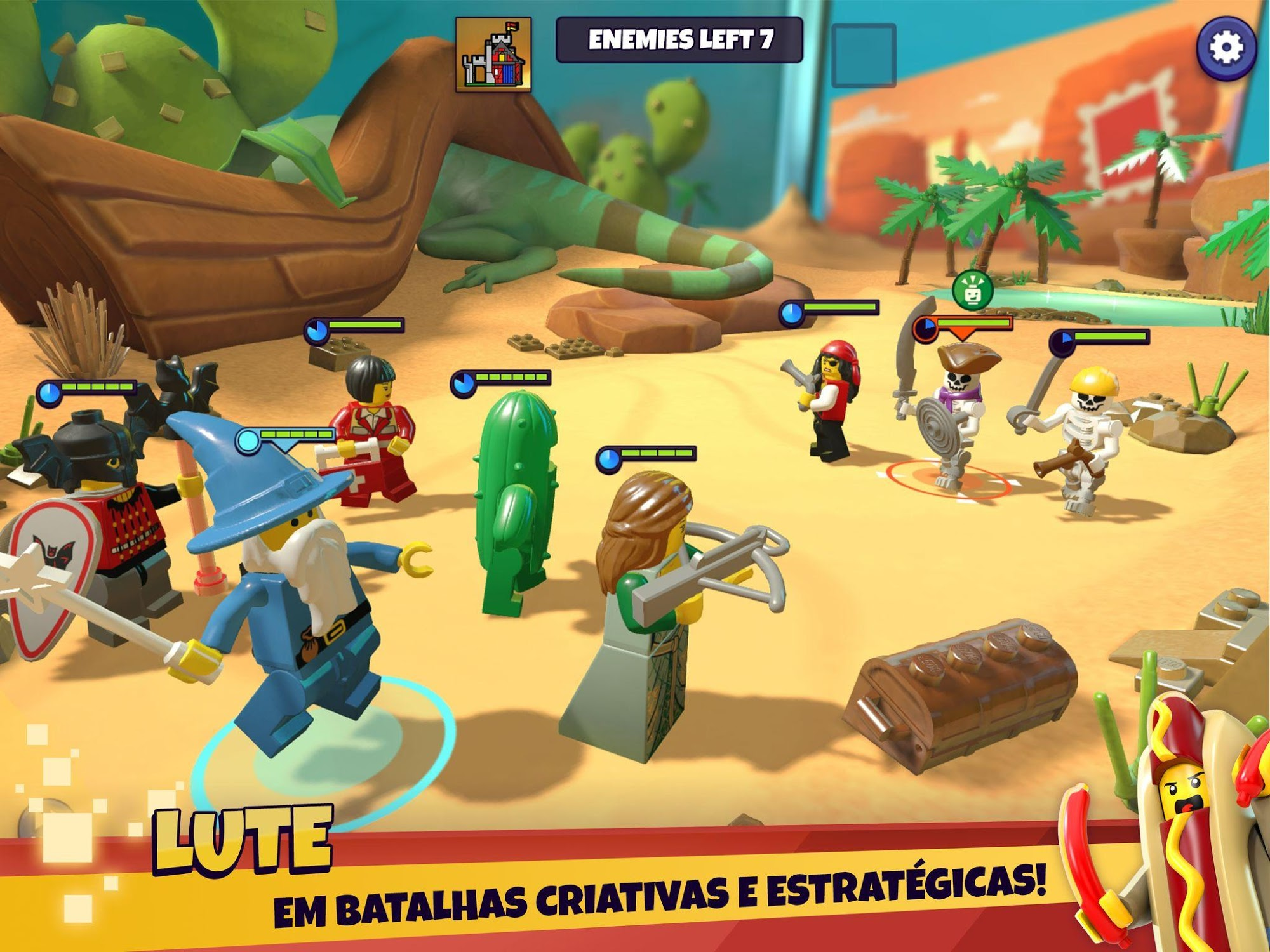 LEGO® Legacy: Heroes Unboxed para Android