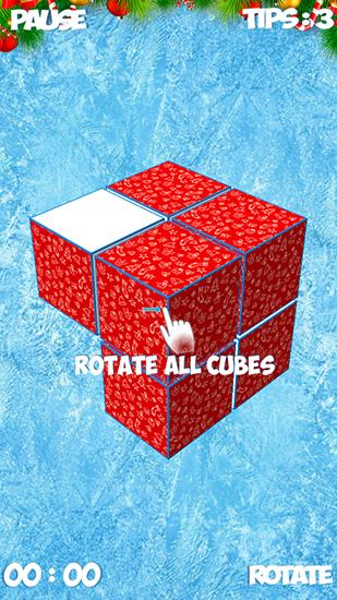 Logik Minus cube: 3d puzzle game für das Smartphone