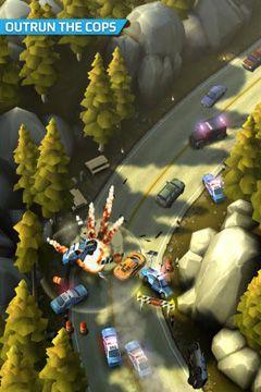 截图飙车飞盗在iPhone