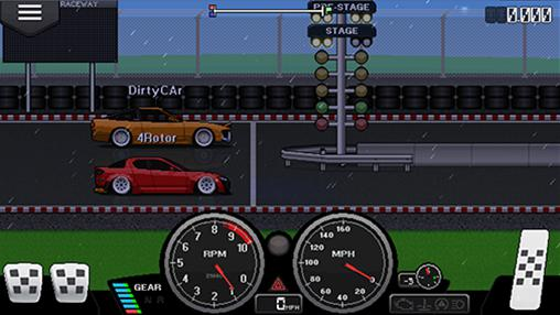 Pixel car racer для Android