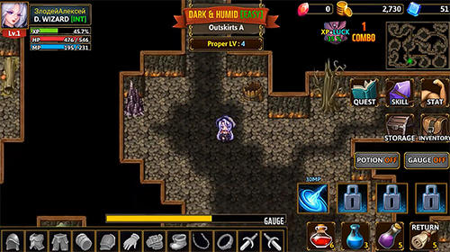 Darkside dungeon en español
