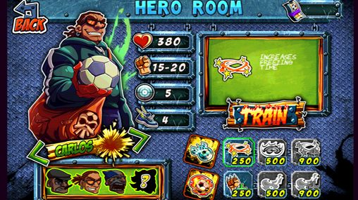 Arcade games: download Hooligans: The bravest to your phone