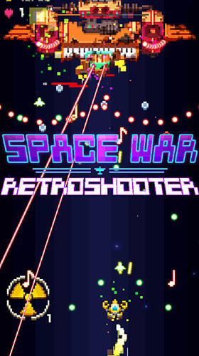 Space war: 2D pixel retro shooter скріншот 1
