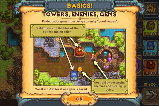 Strategy games: download Cursed treasure 2 to your phone