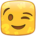 Words to emojis: Fun emoji guessing quiz game icon
