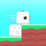 Square bird icono