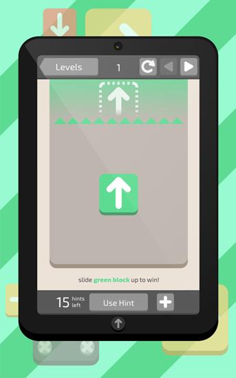 Logikspiele Slide up! für das Smartphone