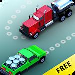 Truck traffic control icône
