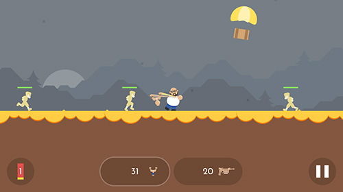 Slingshots vs. zombies für Android