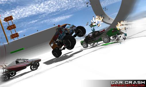 Accident d'auto: Destruction maximale capture d'écran