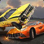 Demolition derby 3D icône