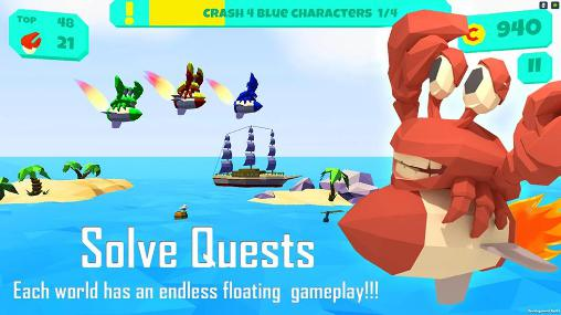 Floaties: Endless flying game für Android