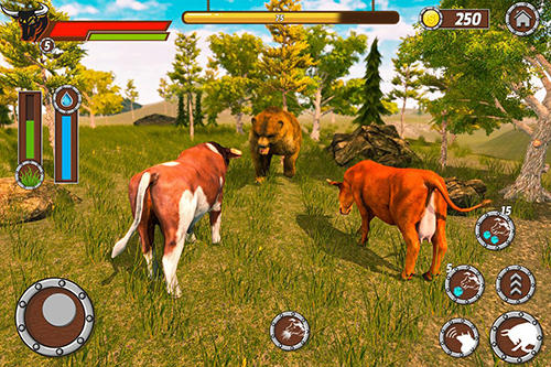 Bull family simulator: Wild knack Screenshot