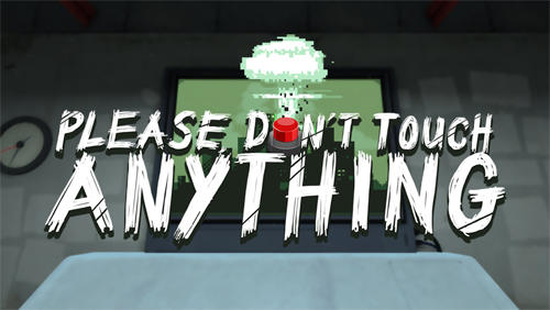 logo Bitte nichts anfassen 3D