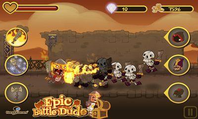 Epic Battle Dude Screenshot