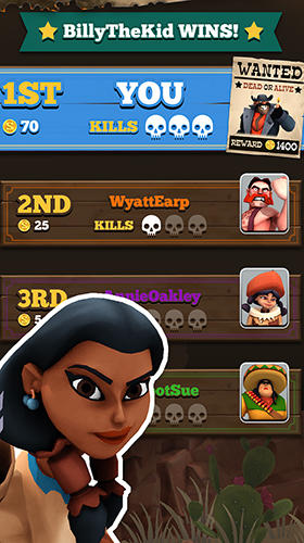 Screenshot Pocket cowboys on iPhone
