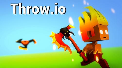 Throw io: Online axes, knives and shurikens battles Screenshot