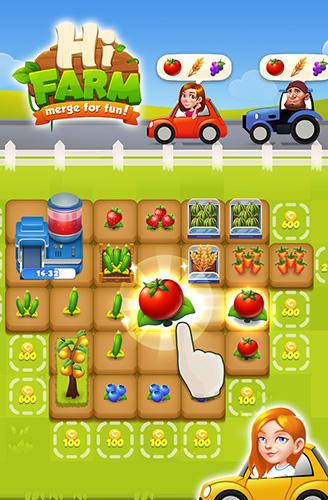 3 Gewinnt Hi farm: Merge fun! auf Deutsch