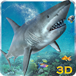アイコン Hungry white shark revenge 3D