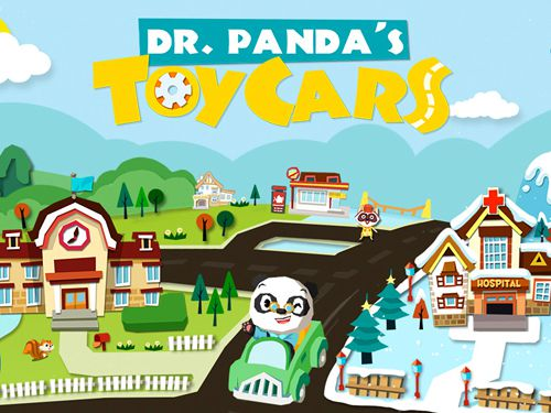 logo Carros de brinquedos de dr. Panda