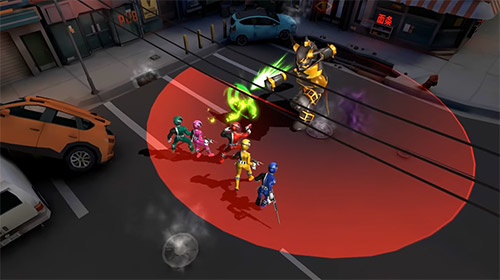 RPG: Lade Power Rangers: All Stars auf dein Handy herunter