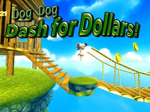 logo Chien Dog: Chasse aux dollars