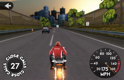 Screenshot Highway Rider on iPhone