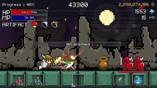 Pixelspiele Buff knight advanced! auf Deutsch