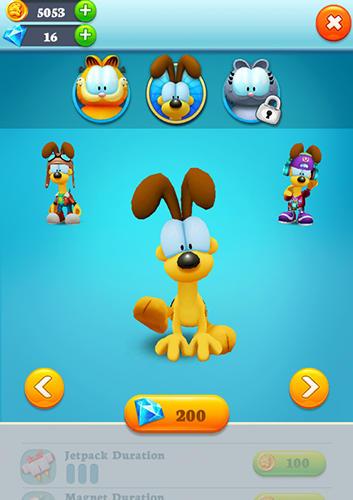 Jogos de arcade Garfield rushpara smartphone