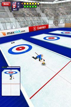 Curling 3D für iPhone