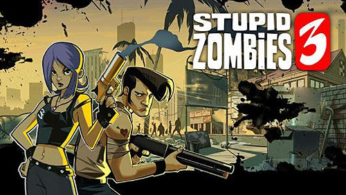 логотип Глупые зомби 3