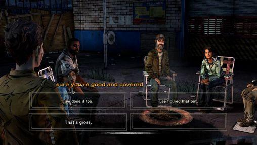 Abenteuer-Spiele The walking dead: Season 2 Episode 3. In harm's way für das Smartphone