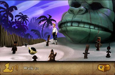 Adventure games: download The Secret of Monkey Island to your phone