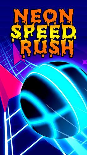 Neon speed rush Screenshot