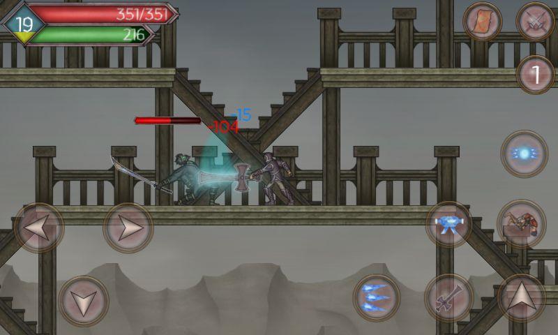 Runic Curse captura de pantalla 1