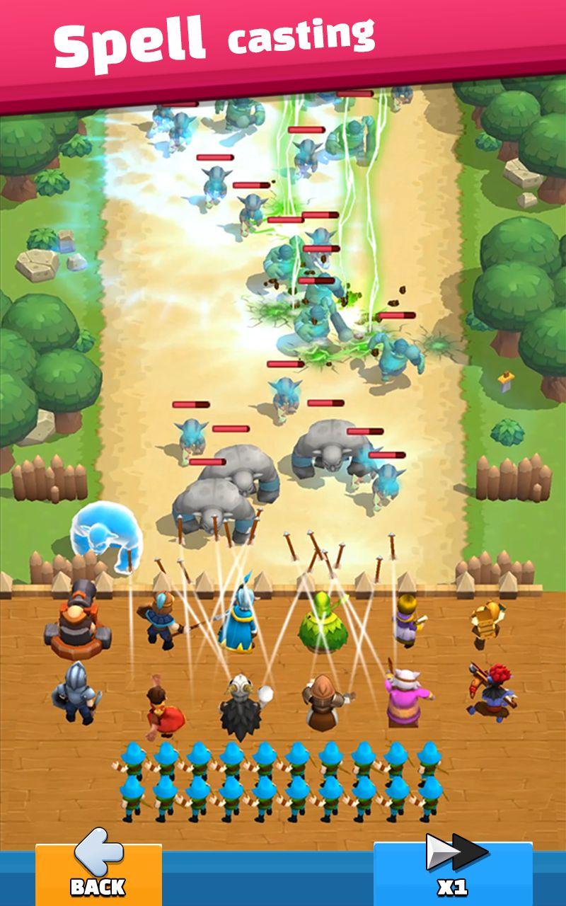 Wild Castle: 3D Offline Game capture d'écran 1