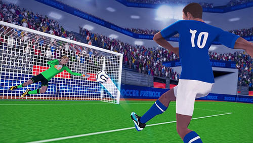 Freekick champion: Soccer world cup for Android