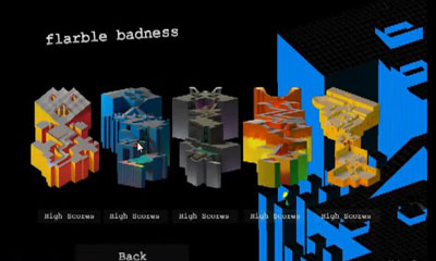 Arcade Flarble Badness for smartphone