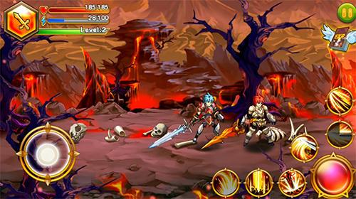 Animespiele Blade of fire: Legend of warrior auf Deutsch