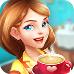 Dream cafe: Cafescapes. Match 3 icono