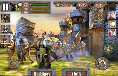 Multiplayerspiele: Lade Helden und Schlösser auf dein Handy herunter
