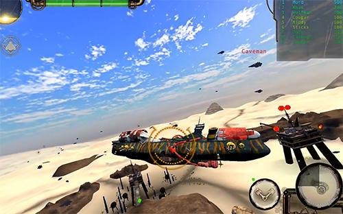 Simulation Exile skies für das Smartphone
