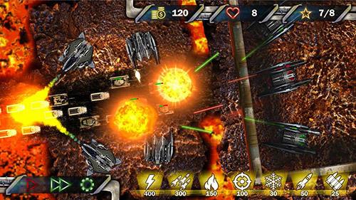 Strategie Tower defense: Next war für das Smartphone