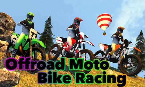Offroad moto bike racing games Symbol