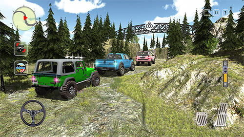 4x4 offroad jeep mountain hill screenshot 2