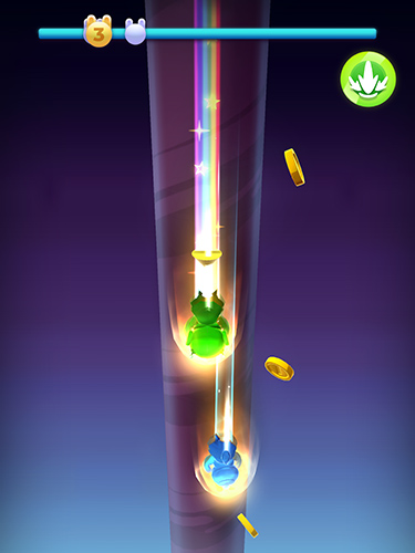 Wacky stars: Multiplayer spiral jump arcade Screenshot