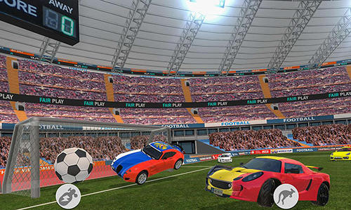 Car football 2018 screenshot 1