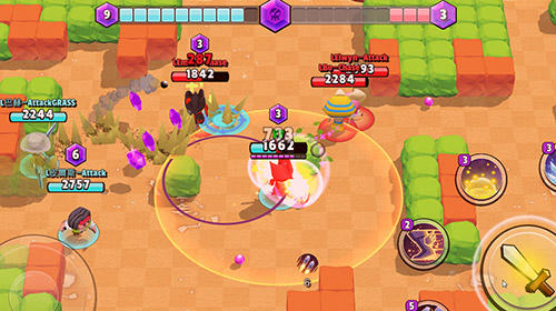 Action RPG games Tiny heroes: Magic clash in English
