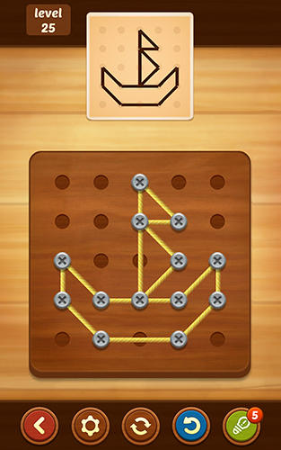 Line puzzle: String art для Android